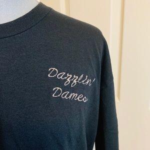 VTG Dazzlin Dames Embroidered T-shirt